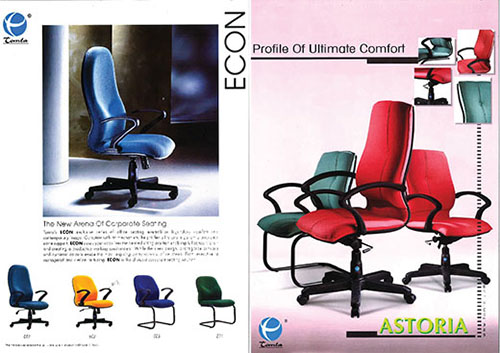The first age of cushioned chair